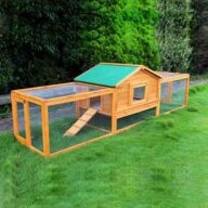 Wooden rabbit cage pet house Size 309x 79x 86cm