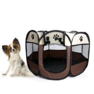 Pet playpen 8 panel foldable oxford cloth 06-0237 Dog Playpen: Pet Playpen Products, Dog Goods Pet