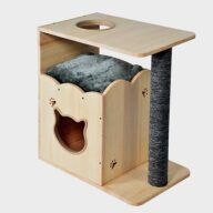 Cat Furniture Factory Wheasale Wooden Cat Tree House 06-0188