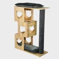 Cat tree factory new design cat tree natur wood house 06-0190