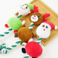 Cute Christmas Plush Christmas Decorations Toy Sounding Toys Cat Toys: Pet Puzzle Feather, Mouse, Ball For Cat Training Cute Christmas Plush Christmas Decorations Toy Sounding Toys