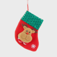 Funny Decorations Christmas Santa Stocking For Gifts Christmas decoration (1301) christmas car accessories